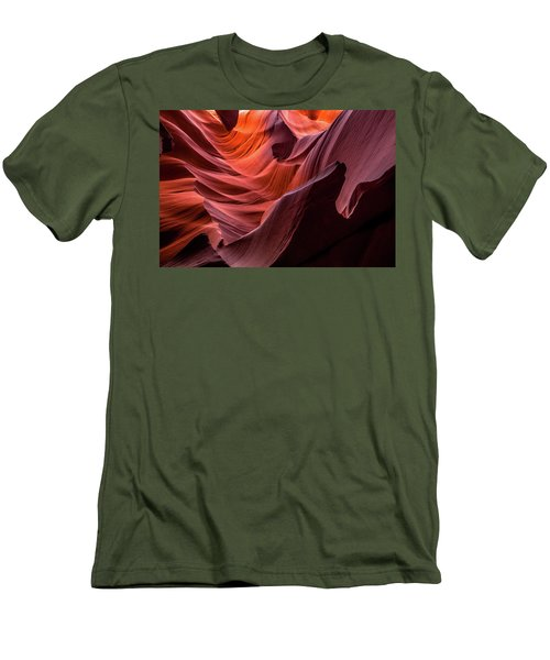 Ripple Of Color Men's T-Shirt (Athletic Fit)
