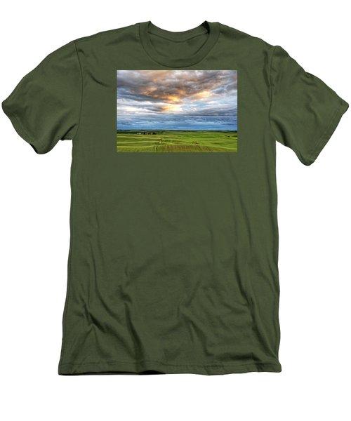 Ripples Men's T-Shirt (Athletic Fit)