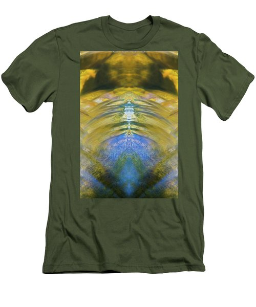 Ripples Of Bell Rocks Men's T-Shirt (Athletic Fit)