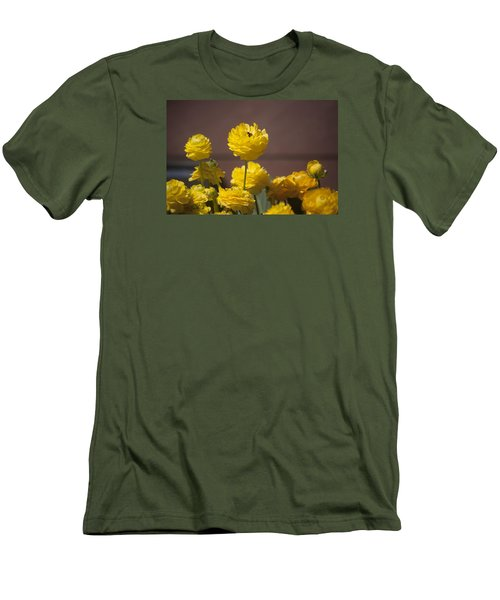 Rising Above The Crowd Men's T-Shirt (Slim Fit) by Morris  McClung