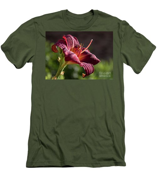 Men's T-Shirt (Slim Fit) featuring the photograph Rising To The Sun by Sherry Hallemeier