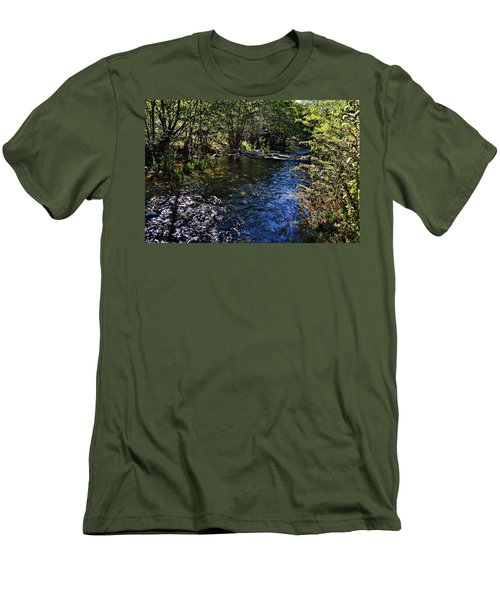 River Of Peace Men's T-Shirt (Athletic Fit)