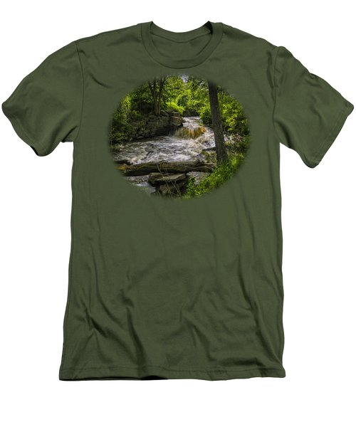 Riverside Men's T-Shirt (Slim Fit) by Mark Myhaver
