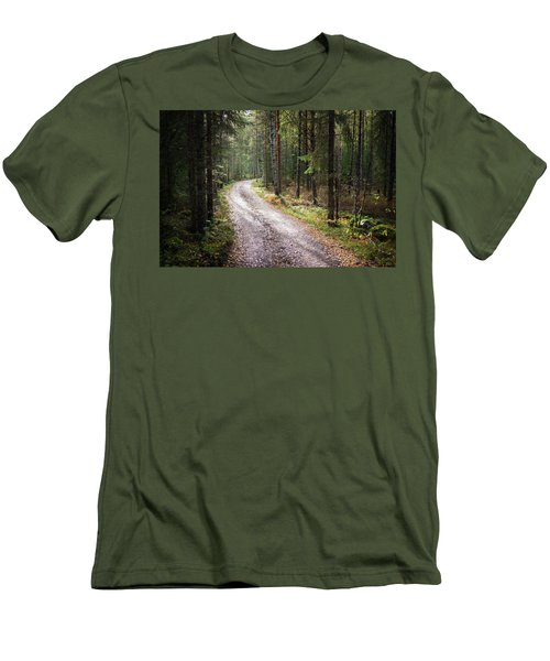 Road To The Light Men's T-Shirt (Athletic Fit)