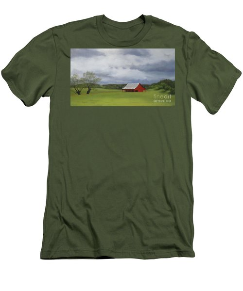 Road To Yosemite Men's T-Shirt (Athletic Fit)
