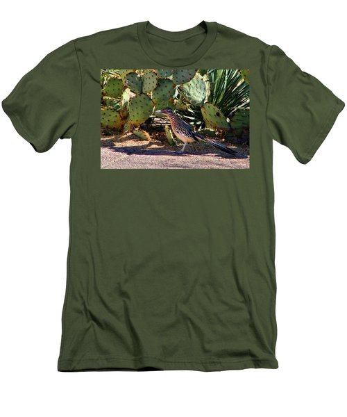 Roadrunner Men's T-Shirt (Slim Fit) by Kathryn Meyer