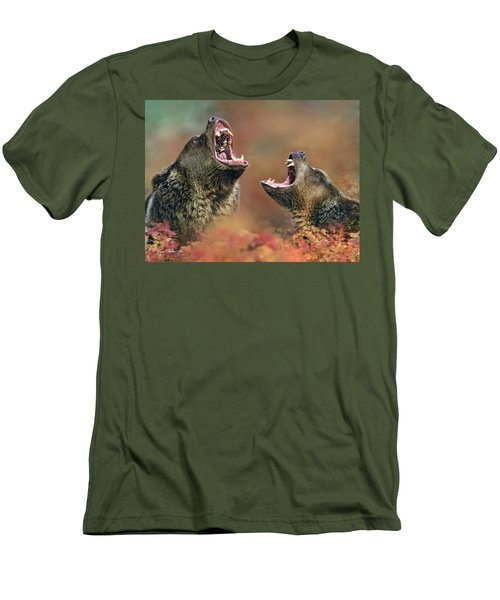 Roaring Bears Men's T-Shirt (Athletic Fit)