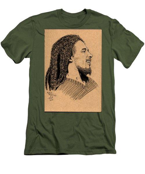 Robert Nesta Marley Men's T-Shirt (Athletic Fit)