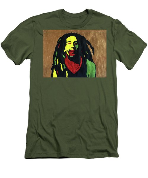 Robert Nesta Marley Men's T-Shirt (Athletic Fit)