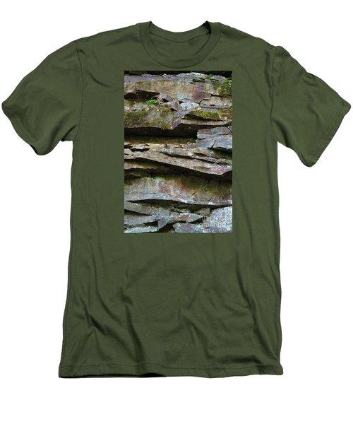 Rock Layers Men's T-Shirt (Athletic Fit)