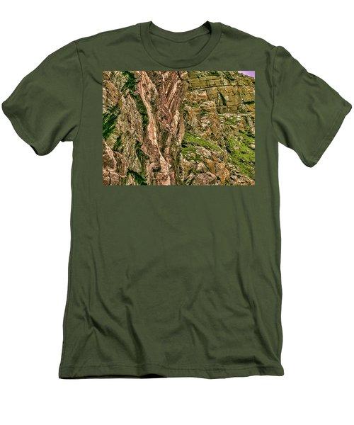 Rock Side. Men's T-Shirt (Athletic Fit)