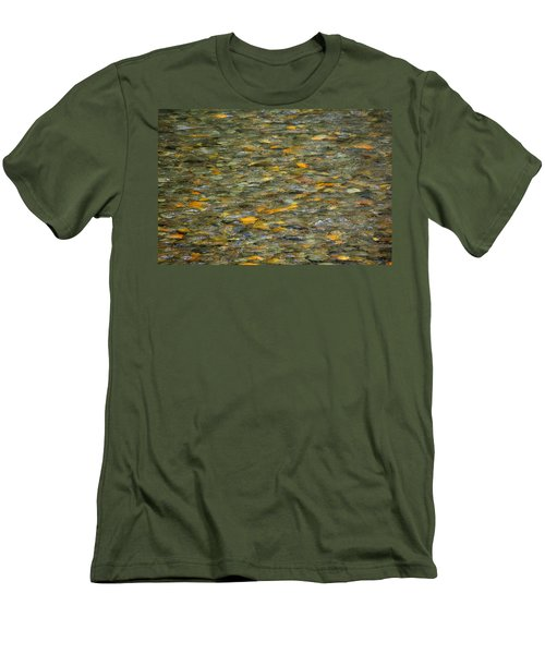 Rocks Under Water Men's T-Shirt (Athletic Fit)