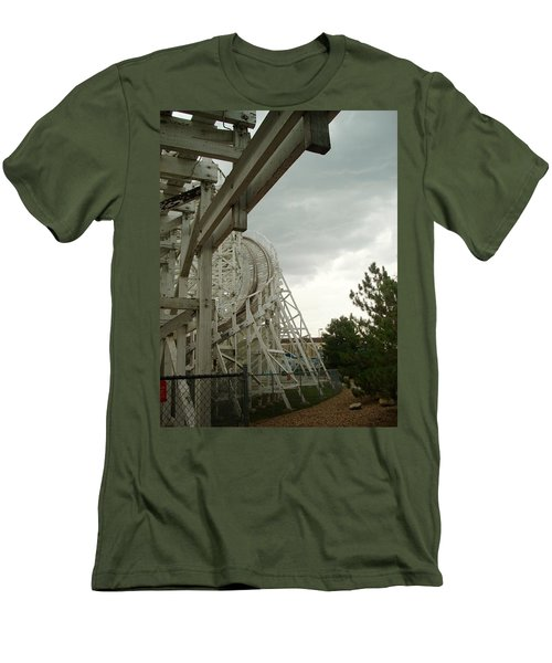 Roller Coaster 5 Men's T-Shirt (Athletic Fit)