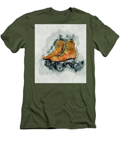 Roller Skates Men's T-Shirt (Athletic Fit)
