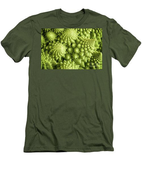 Romanesco Broccoli Vegetable Close Up Men's T-Shirt (Athletic Fit)