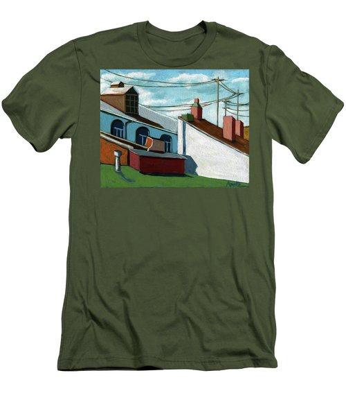Rooftops Men's T-Shirt (Athletic Fit)
