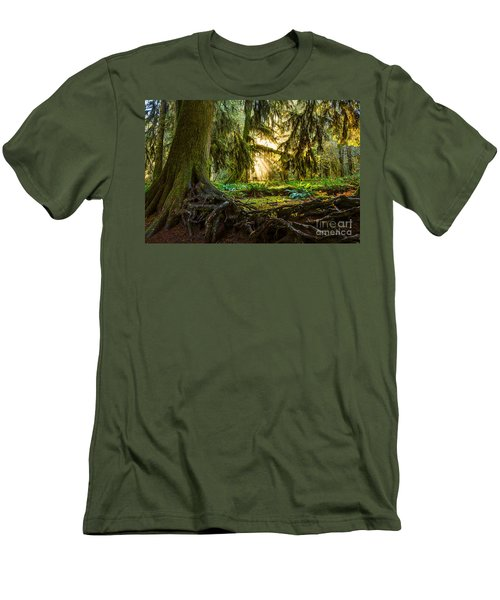 Roots And Light Men's T-Shirt (Athletic Fit)