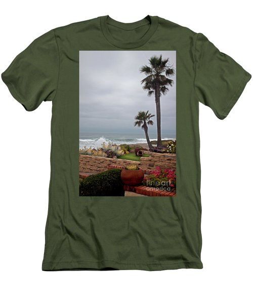Rosarito Beach Men's T-Shirt (Slim Fit) by Ivete Basso Photography
