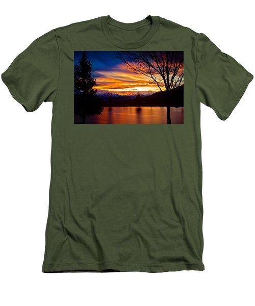 Rose Canyon Dawning Men's T-Shirt (Slim Fit) by Paul Marto