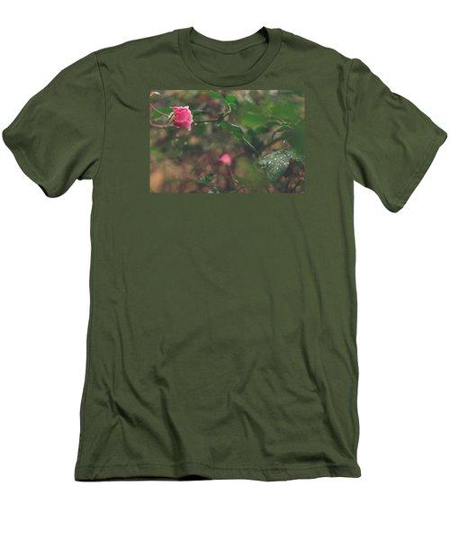 Rose Garden Men's T-Shirt (Athletic Fit)