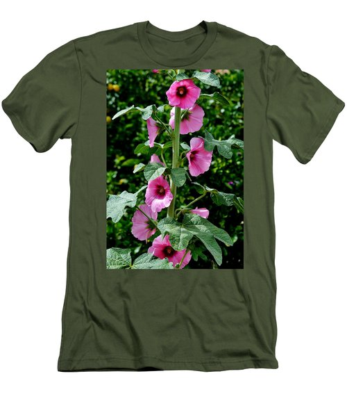 Rose Of Sharon Vine Men's T-Shirt (Athletic Fit)