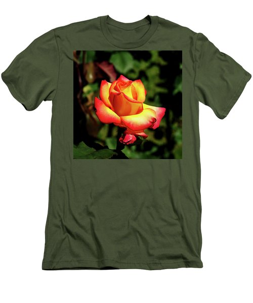 Men's T-Shirt (Slim Fit) featuring the photograph Rose To Remember by Dale Stillman