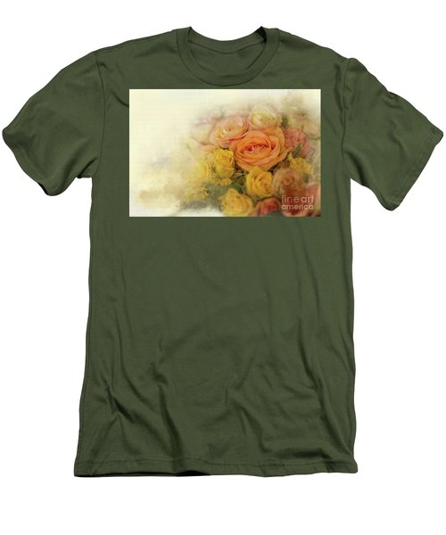 Roses For Mother's Day Men's T-Shirt (Slim Fit) by Eva Lechner
