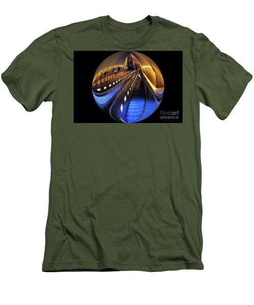 Rosslyn Metro Station Men's T-Shirt (Slim Fit) by John S