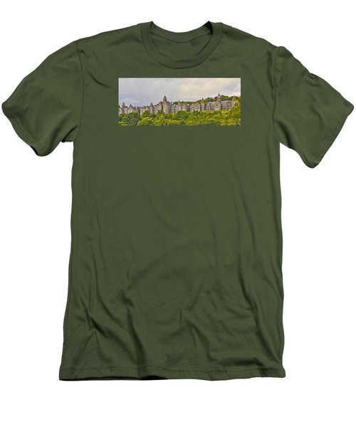 Men's T-Shirt (Slim Fit) featuring the photograph Rows by Wanda Krack