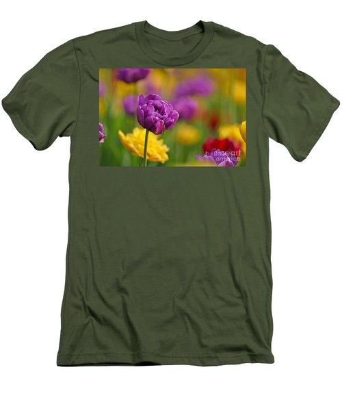 Royal Tulips Men's T-Shirt (Athletic Fit)