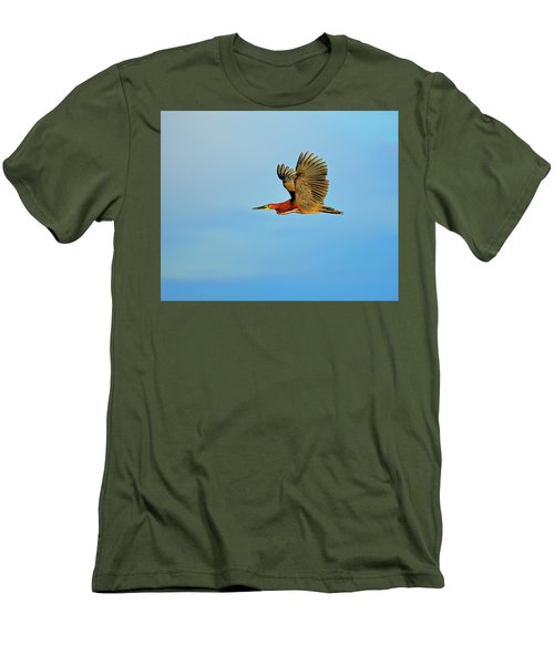 Rufescent Men's T-Shirt (Slim Fit) by Tony Beck