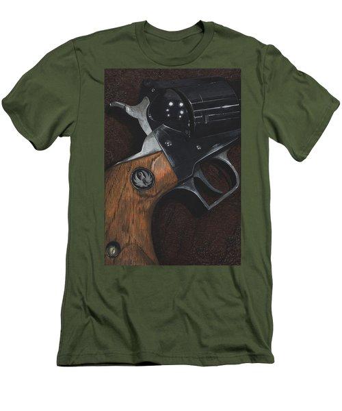 Ruger 44 Magnum Super Blackhawk Revolver Men's T-Shirt (Athletic Fit)