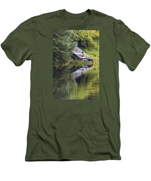 Run Aground Men's T-Shirt (Slim Fit) by Harold Piskiel