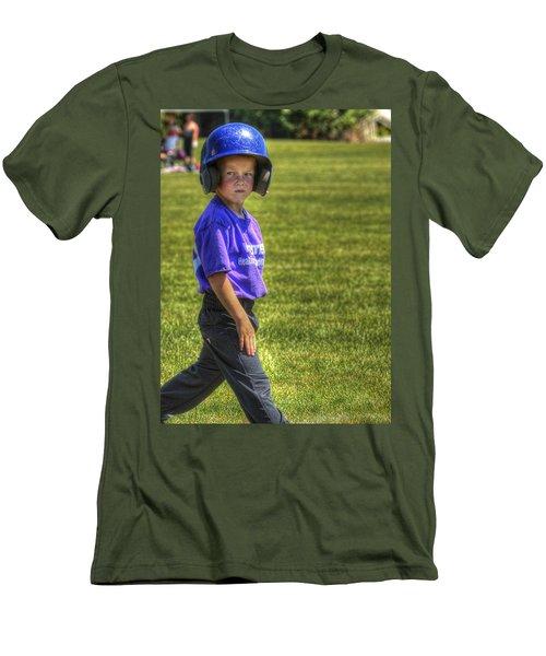Runner On Base 1799 Men's T-Shirt (Athletic Fit)