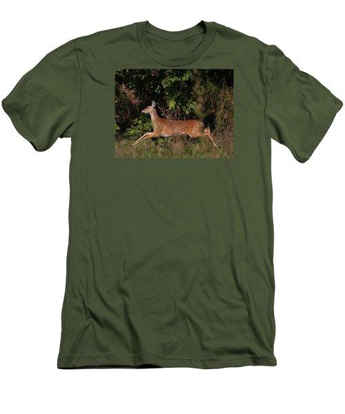 Running Deer Men's T-Shirt (Athletic Fit)