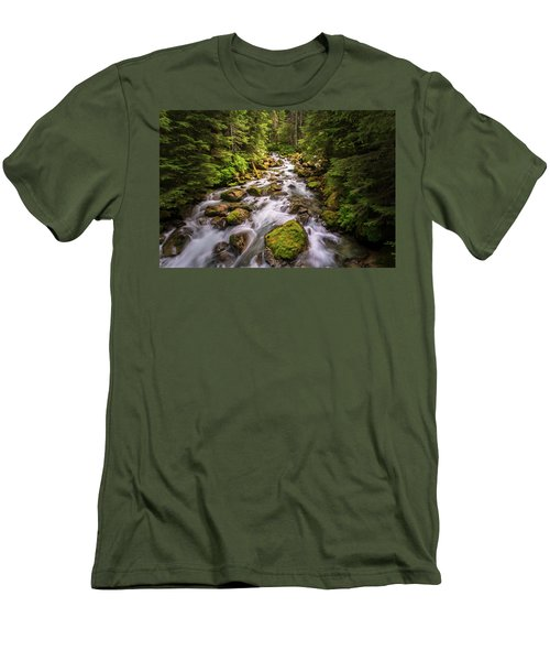 Rushing River Men's T-Shirt (Athletic Fit)