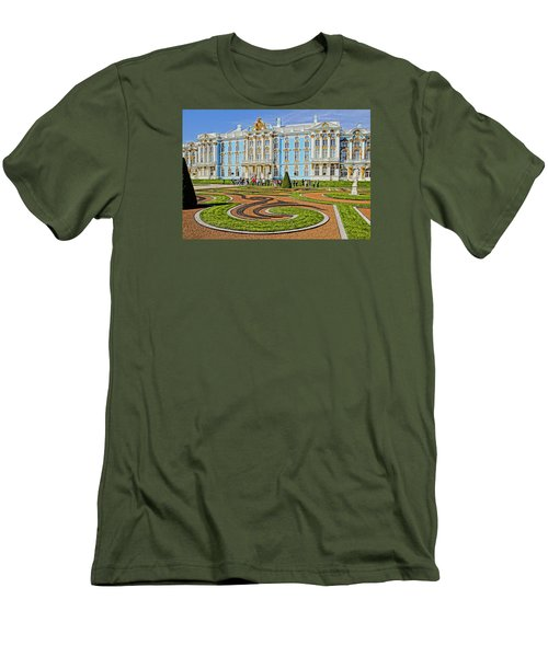 Russian Palace Men's T-Shirt (Slim Fit) by Dennis Cox WorldViews