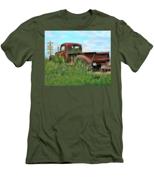 Rusted Not Retired Men's T-Shirt (Athletic Fit)