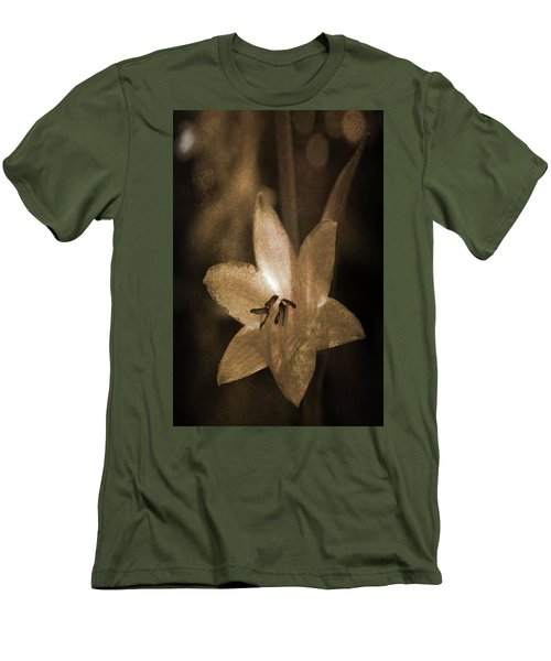 Rustic Bloom Men's T-Shirt (Athletic Fit)