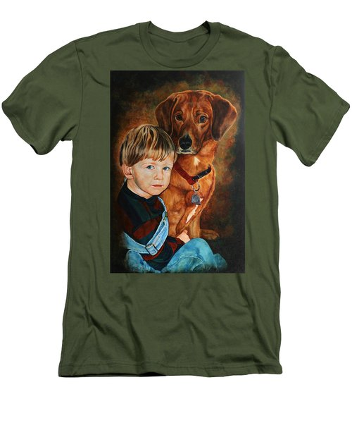 Ryan And Moses Men's T-Shirt (Athletic Fit)
