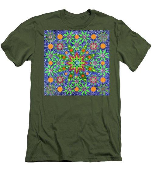 Sabiduria De Las Plantas Men's T-Shirt (Athletic Fit)