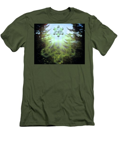 Sacred Forest Event Men's T-Shirt (Slim Fit) by Milton Thompson