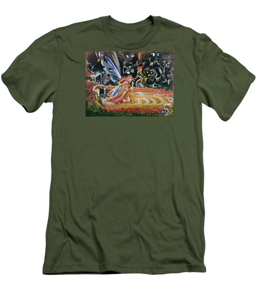 Sacred Pool 2 Men's T-Shirt (Athletic Fit)