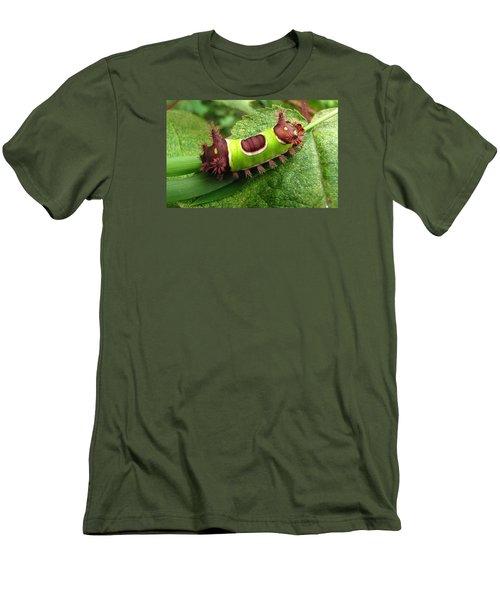 Saddleback Caterpillar Men's T-Shirt (Athletic Fit)