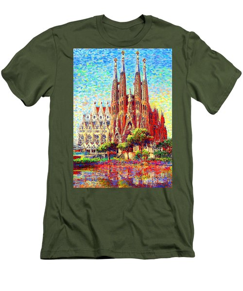 Sagrada Familia Men's T-Shirt (Athletic Fit)