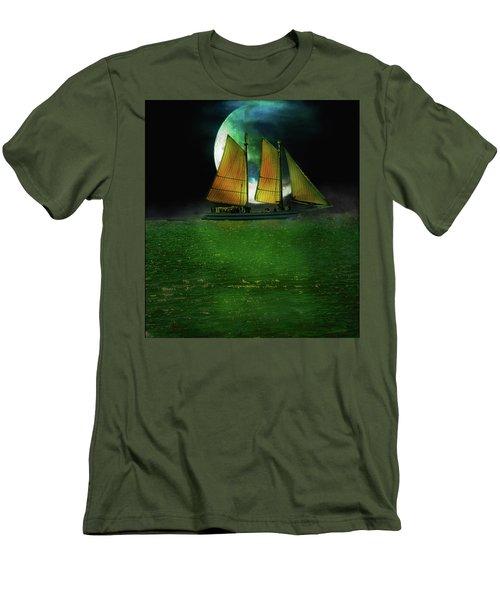 Sailing Safari  Men's T-Shirt (Athletic Fit)