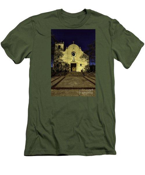Saint Johns Men's T-Shirt (Slim Fit) by Ken Frischkorn