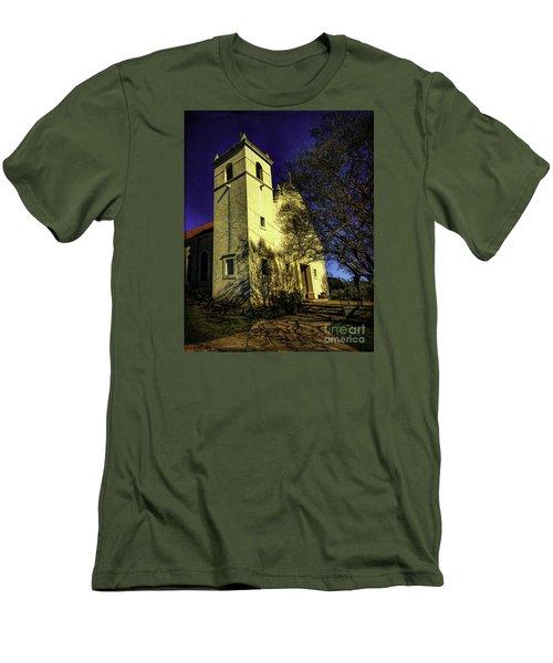 Saint Johns Two Men's T-Shirt (Slim Fit) by Ken Frischkorn