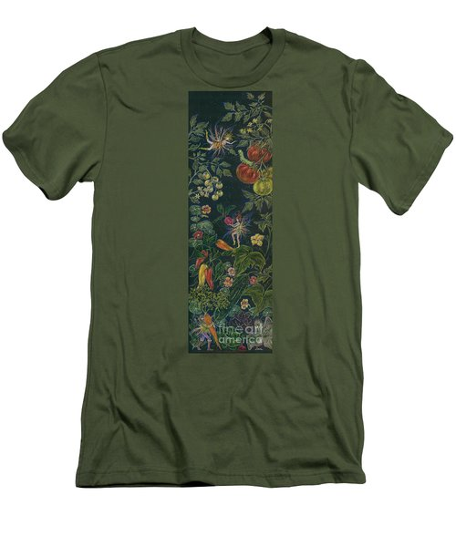 Salad Men's T-Shirt (Slim Fit) by Dawn Fairies