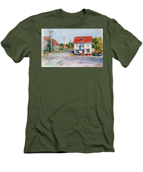 Salty Market, North Truro Men's T-Shirt (Athletic Fit)